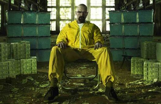 Breaking Bad season five promo art - TV marathon