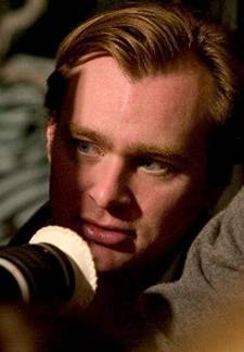 Christopher Nolan directing 'Batman Begins'
