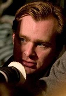 Christopher Nolan directing 'Batman Begins'