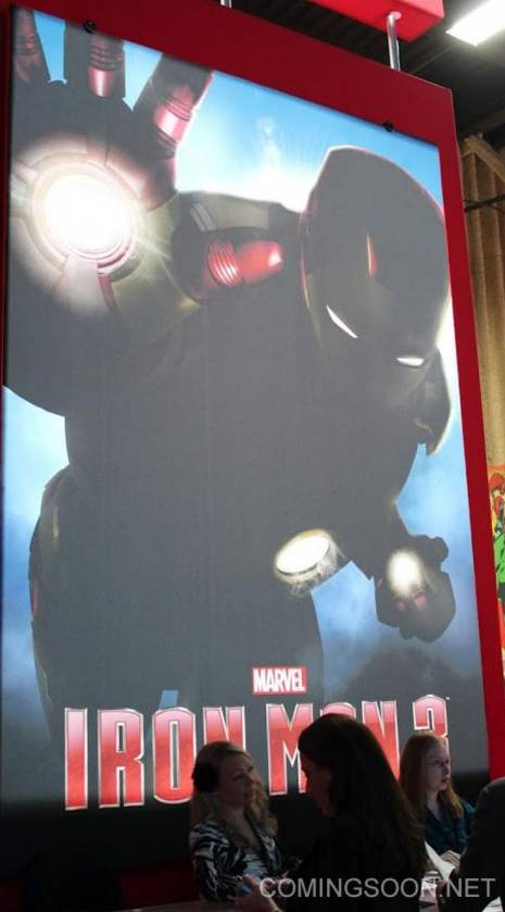 'Iron Man 3' movie promo art from ComingSoon