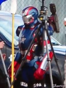 Iron Patriot or War Machine in 'Iron Man 3'