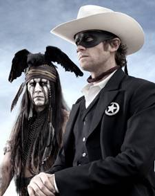 Johnny Depp and Armie Hammer in &#039;The Lone Ranger&#039;