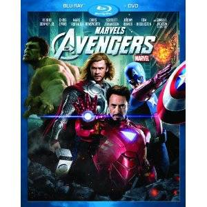 Joss Whedon's The Avengers on Blu-ray