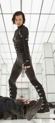 Milla Jovovich in Resident Evil Retribution
