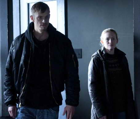 Mireille Enos and Joel Kinnaman in 'The Killing' season finale