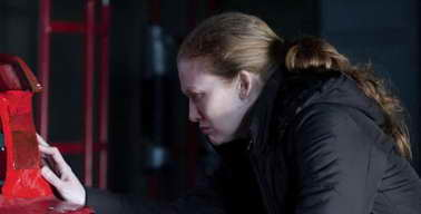 Mireille Enos in 'The Killing' season finale - who murdered Rosie?