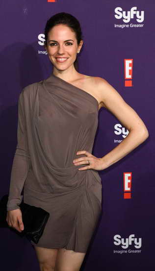 COMIC-CON -- Syfy/E! Red Carpet -- Pictured: Anna Silk