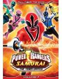 'Power Rangers Samurai The Team Unites' on DVD