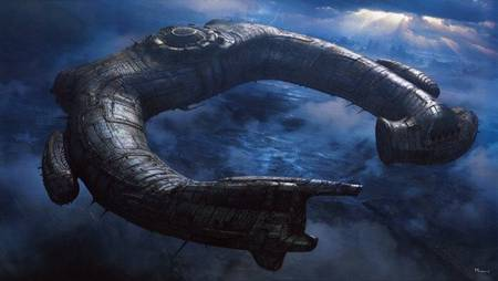 'Prometheus' spoilers - Engineer Cargo Ship concept art