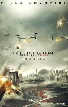 Resident Evil Retribution promo