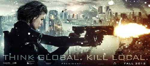 'Resident Evil Retribution' promo art