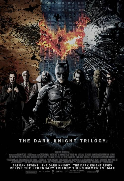 'The Dark Knight Rises' Trilogy homage enhanced-buzz