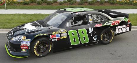 'The Dark Knight Rises' themed Dale Earnhardt Jr. No. 88 Chevy