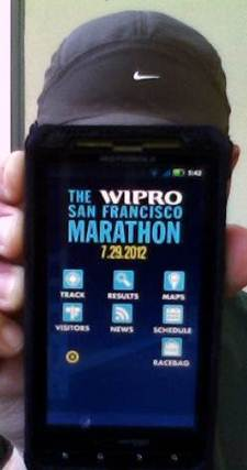 2012 SF Marathon Runner Tracking App