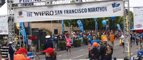 2012 San Francisco Marathon - cool app, bad parking