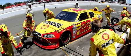No 22 Penske Dodge at the Toyota/Save Mart 350 at Sonoma