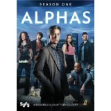 Alphas - season one on DVD