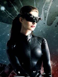 Anne Hathaway as Catwoman in 'The Dark Knight Rises'