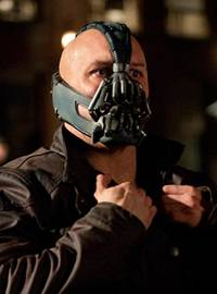 Bane (Tom Hardy) in 'The Dark Knight Rises'