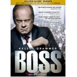 Boss-  season 1 on DVD and Blu-ray
