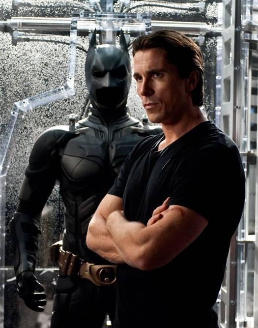 Christian Bale as Bruce Wayne aka Batman