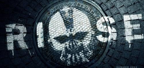 The Dark Knight Rises Bane Sewer promo art