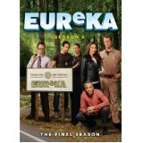 Eureka - season five on DVD