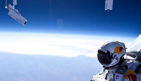 Felix Baumgartner Red Bull Stratos jump