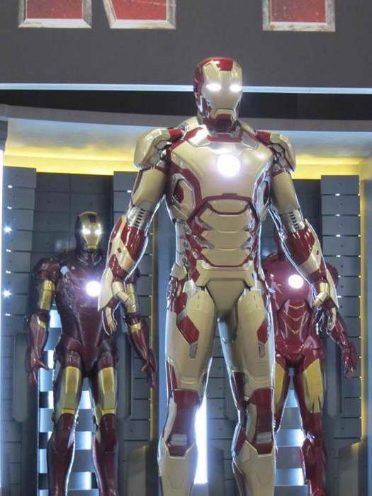 'Iron Man 3' - first look at extremis armor 01