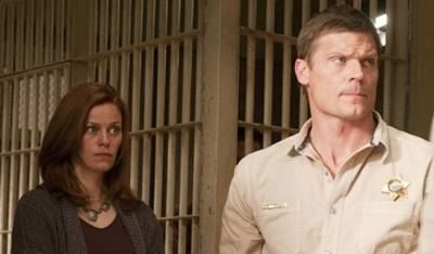 'Longmire' - Cassidy Freeman and Bailey Chase