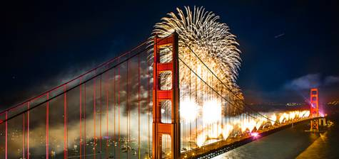 San Francisco Fireworks Celebration