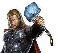 Thor in 'The Avengers' in 3D packed the House
