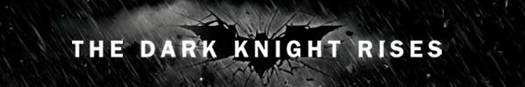 'The Dark Knight Rises' movie mini logo