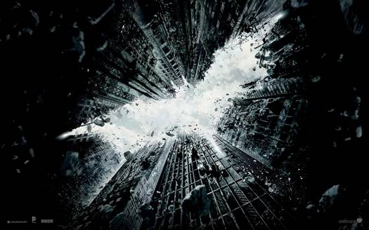 'The Dark Knight Rises' original promo art