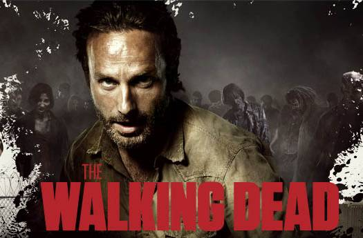 'The Walking Dead' season 3 Comic-Con promo banner - Andrew Lincoln as Rick Grimes
