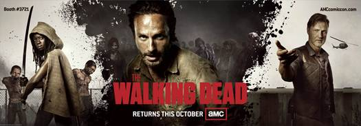 'The Walking Dead' season 3 Comic-Con promo banner
