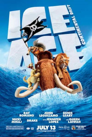 &#039;Ice Age Continental Drift&#039; movie poster