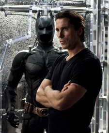 movie review - Christian Bale in The Dark Knight Rises