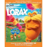 Dr. Seuss' The Lorax on Blu-ray and DVD
