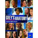Grey's Anatomy sesaon 8 on DVD