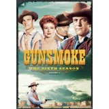 Gunsmoke season six vol 1 on DVD