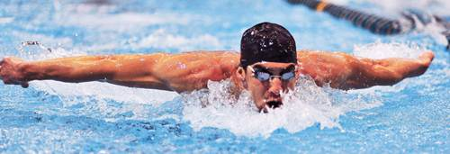Michael Phelps Olympic Swimmer and Record Holder