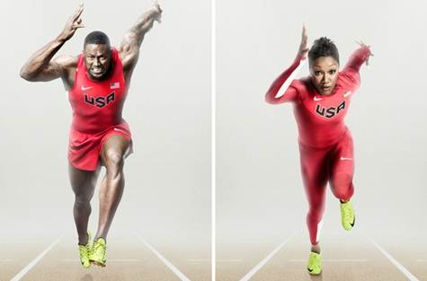 Nike Olympic Running Suits - Allyson Felix