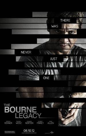 The Bourne Legacy movie poster