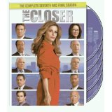The Closer s7 on DVD