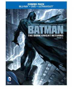 Batman The Dark Knight Returns pt 1 on Blu-ray