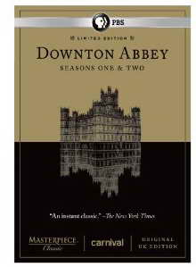 Downton Abbey Seasons 1 and 2 Limited Edition Set - Original UK Version on dvd