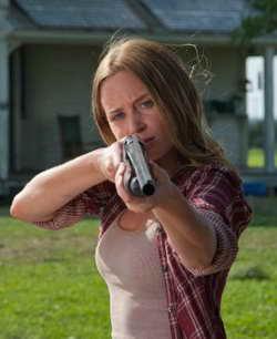 Emily Blunt as Sara in Looper