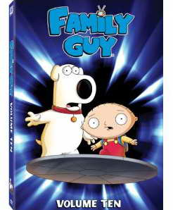 Family Guy Vol 10 on DVD