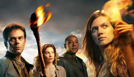 Giancarlo Esposito, Billy Burke, Tracy Spiridakos and Revolution in Revolution from NBC